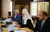 Святейший Патриарх Кирилл провел рабочее совещание по вопросам развития Соловецкого архипелага