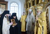 Слово Святейшего Патриарха Кирилла после Литургии в Голгофо-Распятском скиту Соловецкого монастыря