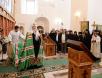 Патриарший визит на Соловки. Всенощное бдение в канун праздника Преображения Господня