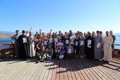 На озере Байкал прошла IV Всесибирская школа православного молодежного актива «Вера и дело»