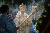 В канун праздника Толгской иконы Божией Матери Святейший Патриарх Кирилл совершил всенощное бдение в Толгском монастыре