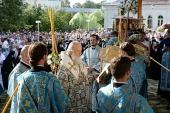 700-летие Толгского монастыря. Всенощное бдение