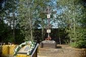 Первая за 85 лет Литургия совершена на Митрофаньевском кладбище Санкт-Петербурга
