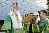 Святейший Патриарх Кирилл: «Будем молиться, чтобы Господь прекратил это страшное кровопролитие»