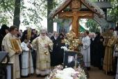В Псковской епархии молитвенно почтили память старца протоиерея Николая Гурьянова