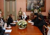 Предстоятель Русской Православной Церкви встретился с послом Израиля Д. Голендер