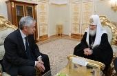 Состоялась встреча Предстоятеля Русской Православной Церкви с избранным Президентом Республики Абхазия
