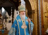 Проповедь Святейшего Патриарха Кирилла в праздник Успения Пресвятой Богородицы в Успенском соборе Московского Кремля