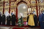 Святейший Патриарх Кирилл посетил Казанский монастырь г. Тамбова