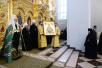 Патриарший визит в Тамбовскую митрополию. Посещение Вознесенского монастыря г. Тамбова. Освящение Вознесенского собора и всенощное бдение