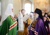 Слово Святейшего Патриарха Кирилла при вручении архиерейского жезла Преосвященному Виктору (Сергееву), епископу Глазовскому и Игринскому