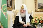 Святейший Патриарх Кирилл: Обучение в духовных школах — благословение Божие, позволяющее достойно подготовиться к церковному служению