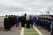 Святейший Патриарх Кирилл прибыл в Тамбовскую митрополию