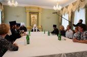 Святейший Патриарх Кирилл встретился с победителями конкурса «Православная инициатива» от Тамбовской митрополии