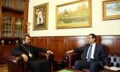 Председатель Отдела внешних церковных связей встретился с послом Ливана в России