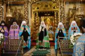 Слово Святейшего Патриарха Кирилла в праздник Донской иконы Божией Матери в Донском монастыре