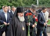 Архиепископ Владикавказский Зосима и духовенство епархии приняли участие в траурных мероприятиях в Беслане