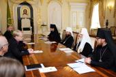 Встреча Святейшего Патриарха Кирилла с Примасом Евангелическо-Лютеранской церкви Финляндии Кари Мякиненом