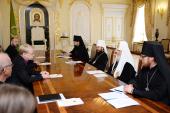 Святейший Патриарх Кирилл встретился с Примасом Евангелическо-Лютеранской церкви Финляндии архиепископом Турку и Финляндии Кари Мякиненом