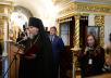 Патриарший визит в Псковскую епархию. Посещение Псково-Печерского монастыря