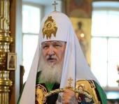 Святейший Патриарх Кирилл: Я верю в то, что доброта не исчезла из нашего народа