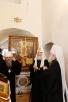 Патриарший визит в Псковскую епархию. Посещение Изборска