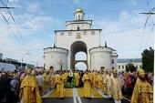 Предстоятель Русской Церкви возглавил торжества по случаю 800-летия Владимирской епархии