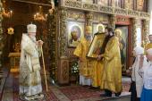 Слово Святейшего Патриарха Кирилла после Божественной литургии в Высоко-Петровском монастыре