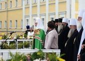 Слово Святейшего Патриарха Кирилла после Литургии в Успенском соборе г. Владимира