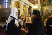 Святейший Патриарх Кирилл посетил Богородице-Рождественский монастырь г. Владимира
