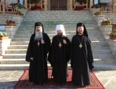 Митрополит Волоколамский Иларион посетил ряд монастырей Румынской Православной Церкви