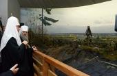 Предстоятель Русской Церкви посетил Владимирский скит Калужской Тихоновой пустыни