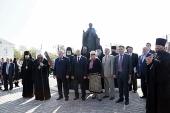 В Нижегородской области освящен памятник преподобному Сергию Радонежскому