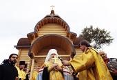 В рамках межрегионального проекта «Казачьи рубежи России» освящен храм в станице Филимоновской Ставропольского края