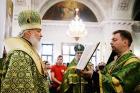 В день памяти святых благоверных князей Александра Невского и Даниила Московского Святейший Патриарх Кирилл совершил Литургию в Даниловом ставропигиальном монастыре