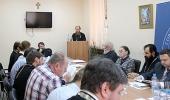 Состоялось очередное заседание Общецерковного диссертационного совета