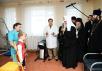 Патриарший визит в Биробиджанскую епархию. Посещение больницы св. вмч. Пантелеимона г. Биробиджана. Встреча с руководителями проектов, ставших победителями конкурса «Православная инициатива»