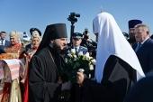Святейший Патриарх Кирилл прибыл в г. Комсомольск-на-Амуре