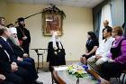 Святейший Патриарх Кирилл встретился с победителями конкурса «Православная инициатива» от Биробиджанской епархии
