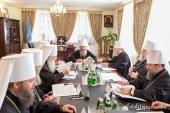Началось очередное заседание Священного Синода Украинской Православной Церкви