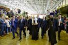 Святейший Патриарх Кирилл посетил Комсомольский-на-Амуре авиационный завод им. Ю.А. Гагарина