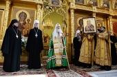 Слово Святейшего Патриарха Кирилла после молебна в кафедральном соборе г. Комсомольска-на-Амуре