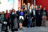 Участники Молодежной богословской школы из Германии посетили православные учебные заведения Москвы