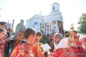 Предстоятель Украинской Православной Церкви возглавил празднования по случаю 870-летия Успенского кафедрального собора в Каневе