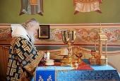 Патриаршее служение на Куликовом поле. Литургия в храме прп. Сергия Радонежского