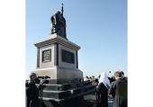 Святейший Патриарх Кирилл освятил на Куликовом поле памятник преподобному Сергию Радонежскому и князю Димитрию Донскому