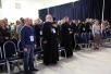 Встреча председателя Синодального информационного отдела В.Р. Легойды с участниками VI фестиваля «Вера и слово»