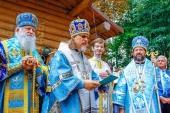 Освящен храм Рождества Пресвятой Богородицы при Русской духовной семинарии во Франции