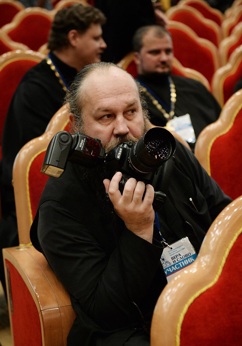 Встреча Святейшего Патриарха Кирилла с участниками VI Международного фестиваля православных СМИ «Вера и слово»
