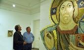 В Российской академии художеств открылась выставка конкурсных работ на проект оформления внутреннего убранства собора святителя Саввы в Белграде